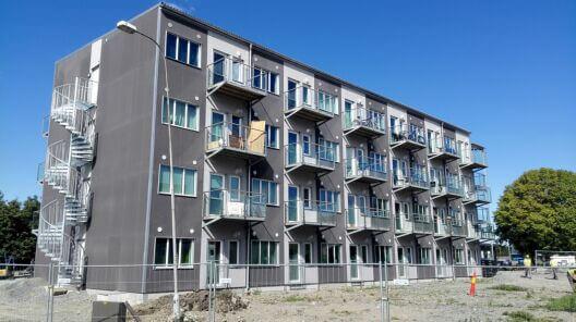 Storage Container Apartment Building